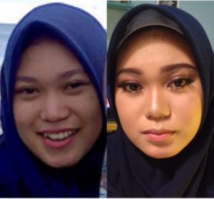 contoh model make up